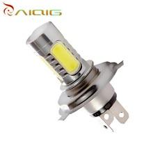 H4 led High Power 7.5W 5 LED White Head Fog Lamps Auto car led bulbs Car Light Source parking 12V 6000K Car Light Lamp
