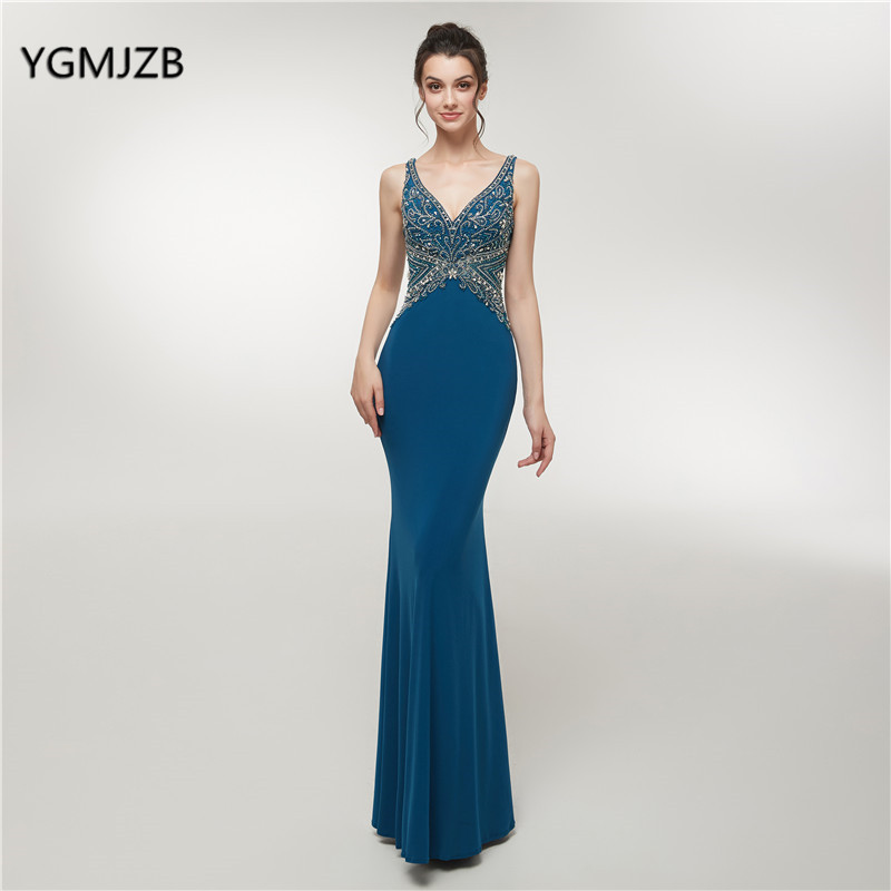 afff527f02 Hot Sale] Fancy Woman Evening Party Ceremony Dresses Long Formal ...