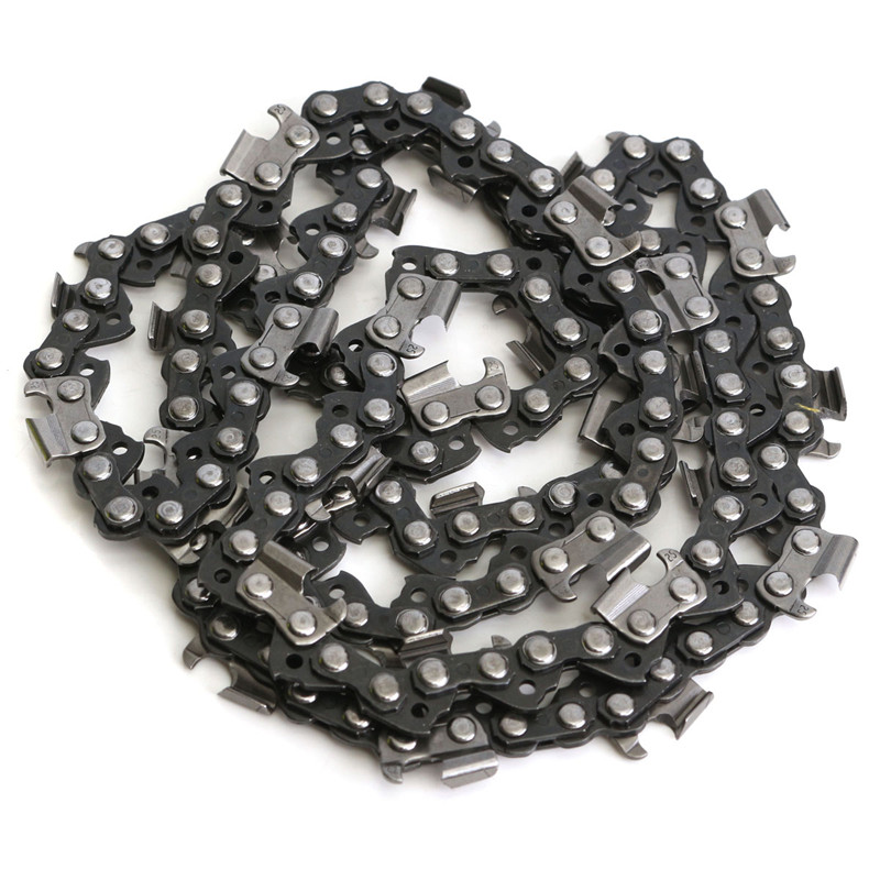 1Pc 72 Link Chainsaw Saw Chain Metal Fits For Chinese Import 4500 & 5200 Etc For Use On Portable Chain Saw Mills Surface Smooth