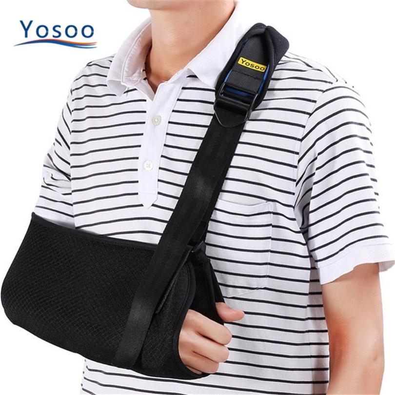 Detalle Comentarios Preguntas sobre Yosoo Médicos ARM Sling hombro  dislocado Honda brazo roto muñeca codo apoyo fractura lesión brazo  cabestrillo para ... 8a52ed2156ad