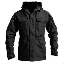 M65 армии одежда Тактический ветровка Для мужчин зима-осень куртка Водонепроницаемый водостойкая, ветрозащитный, Пеший Туризм куртки