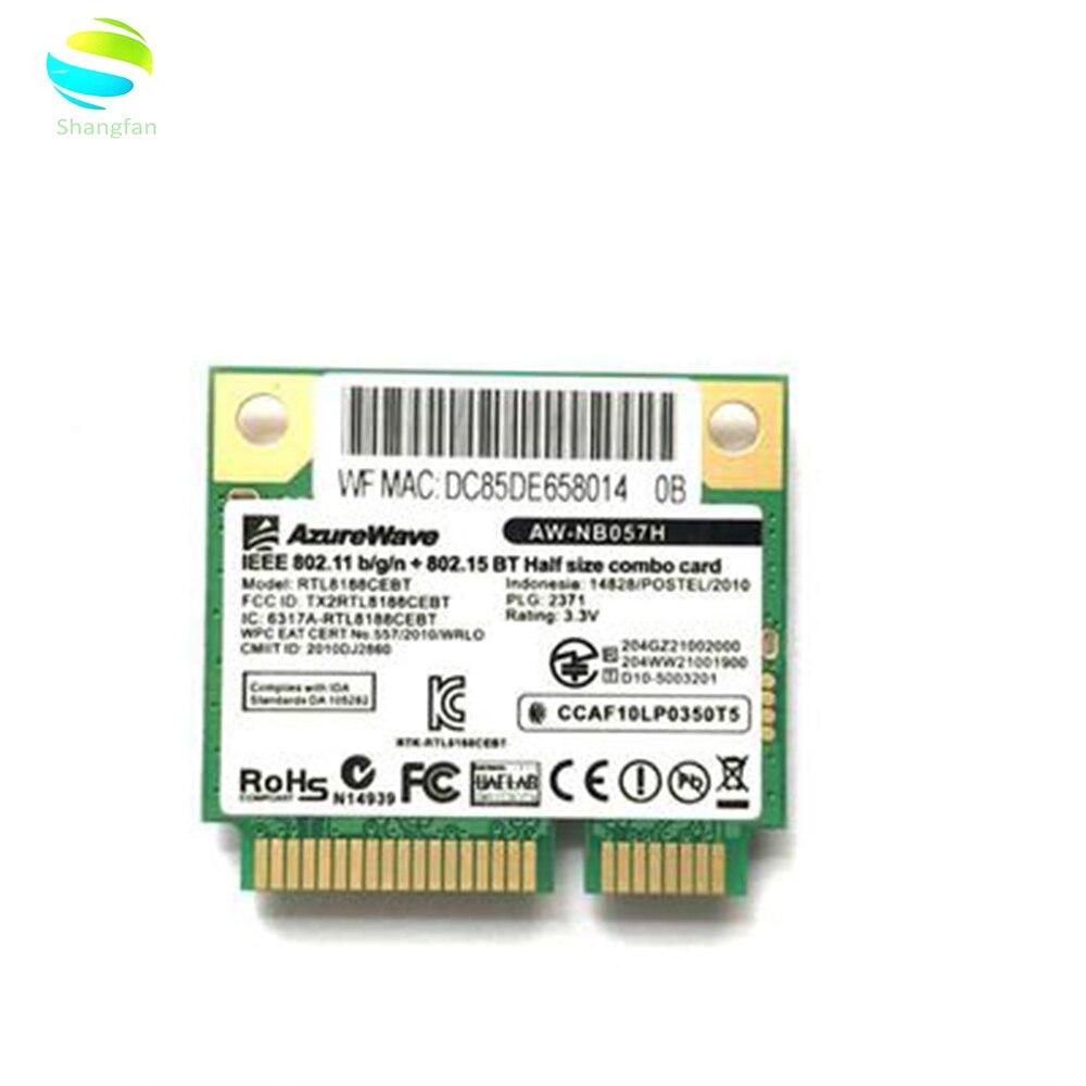 Карта Realtek RTL8188CEBT, MINI PCI-E, Wi-Fi, 150 Мбит/с