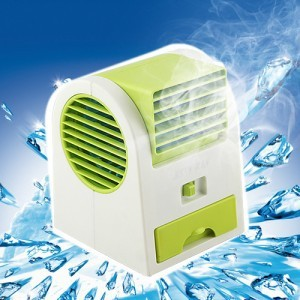Free shipping portable mini hand held USB and battary fragrant air conditioner cooling fan handy cooler mini air conditioner