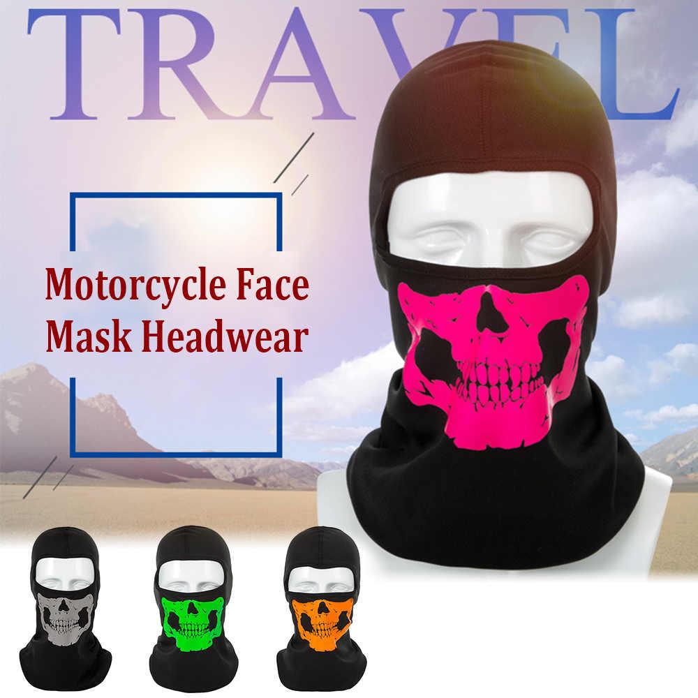 Человеческие кости маска мотоцикл маска Головные Уборы Открытый инструмент анфас велосипедный маска Зимние Лыжные Снегоход шеи Балаклава шляпа