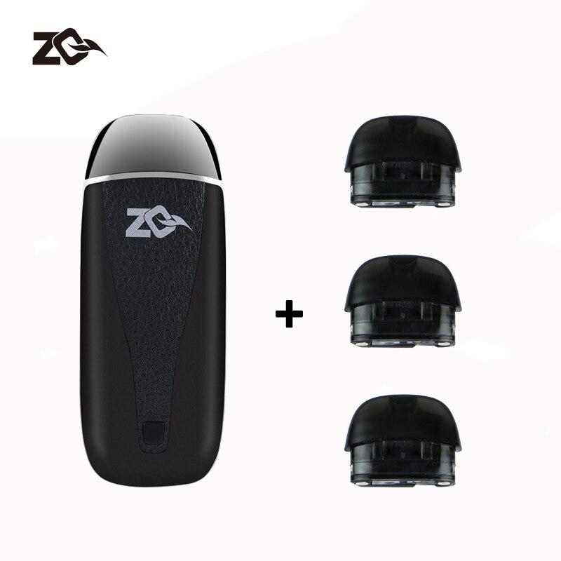 Latest Vape Pod Original ZQ VI 650mah Electronic Cigarette with 2ml Cartridges Vaporizer Mini Starter Kit цена