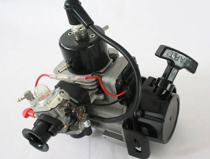 2-Stroke 26cc RC Marine Gas Engine for Racing Boat ZENOAH G260 PUM CompatibleX11 straight row 29cc piston for high speed 29cc gasoline engine zenoah parts rc boat