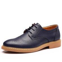 LANSHITINA Cuero Genuino de Los Hombres zapatos planos de La Manera zapatos de vestir de negocios zapatos de Los Hombres zapatos oxford 38-44 9182