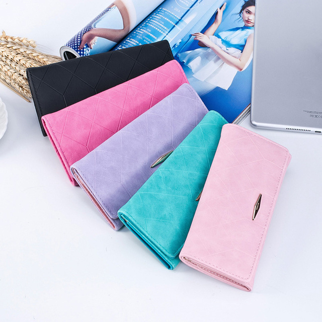 Women's Matte Faux Leather Wallet