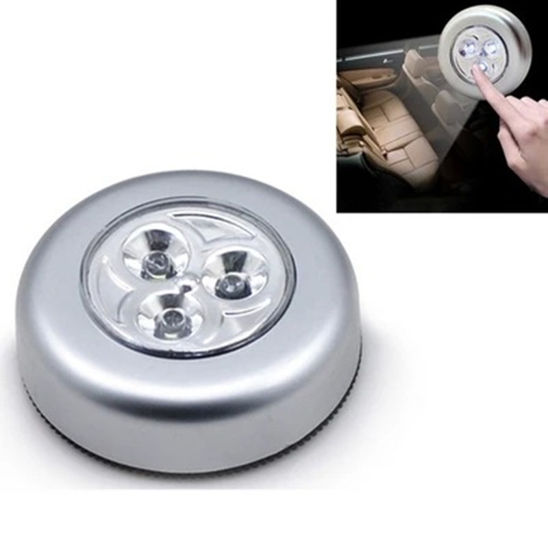 New battery powered wall lamp Self adhesive Cordless Stick Tap ...
