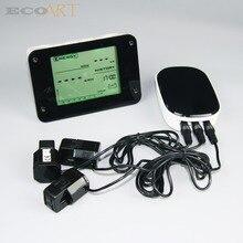 Monitor with three sensor Saving Energy
