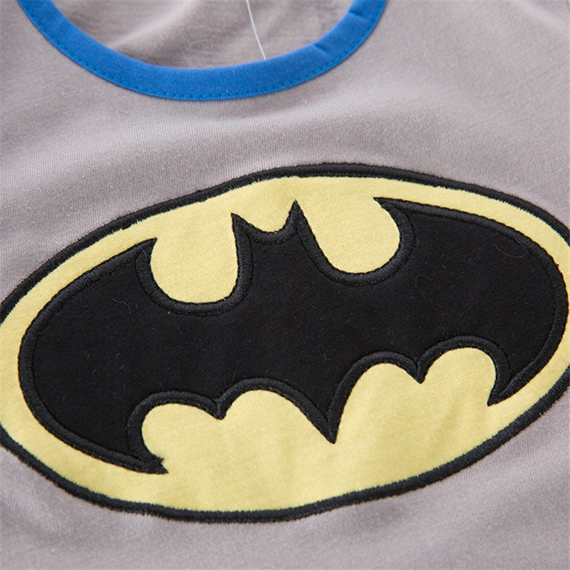Baby Boys Girls Clothes Short Sleeve Batman Baby Toddler Grow Short Sleeved Onesie Jumpsuit Romper All Size