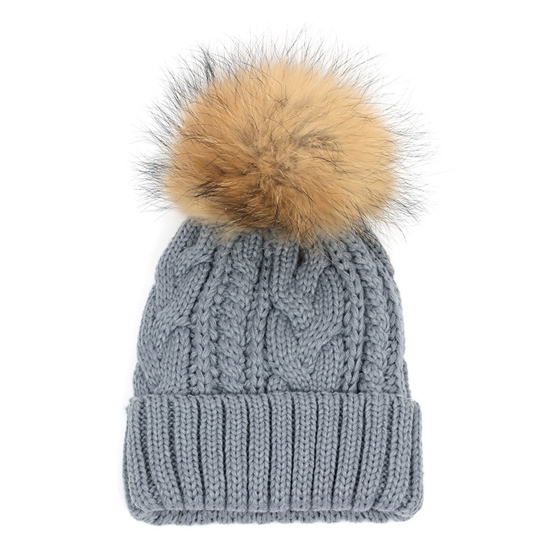 2017 New Casual Beanies Women Winter Hats Crochet Knitting Wool Cap Fur Pompons Ball Warm Gorros Outdoor Brand Thick Female Cap winter women beanies pompons hats warm baggy casual crochet cap knitted hat with patch wool hat capcasquette gorros de lana