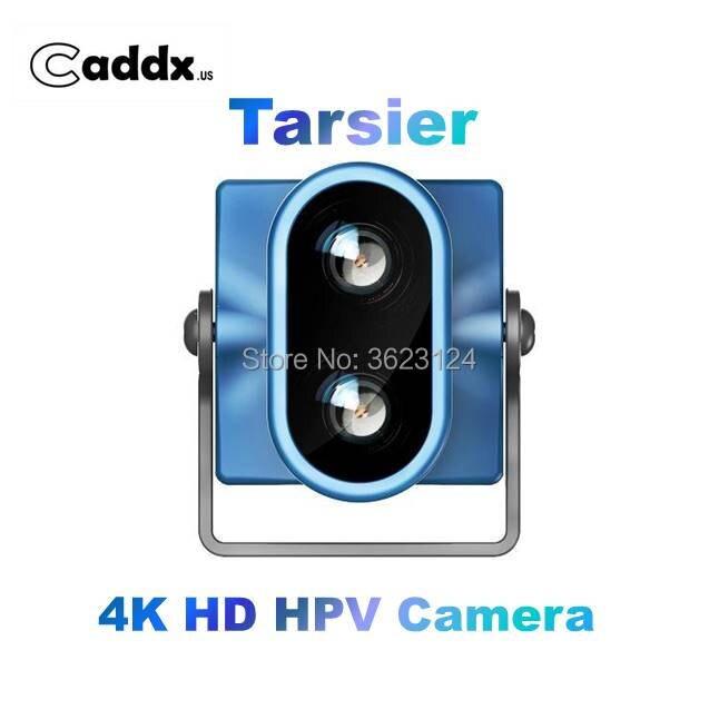 Caddx. us Tarsier 4 K 30fps 1200TVL Dual เลนส์ Super WDR WiFi Mini FPV กล้อง HD DVR Dual Audio OSD สำหรับ RC Racing Drone-ใน ชิ้นส่วนและอุปกรณ์เสริม จาก ของเล่นและงานอดิเรก บน   1