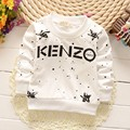 2016 Spring autumn new boys clothing 0-4 years old children Cotton long-sleeved children T-shirt jacket coat baby infant clothes