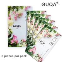 Treatment Mask Black Sheet Mask Rose Beauty Products Hyaluronic Acid Vitamin E Ageless Moisturizing Whitening Silk