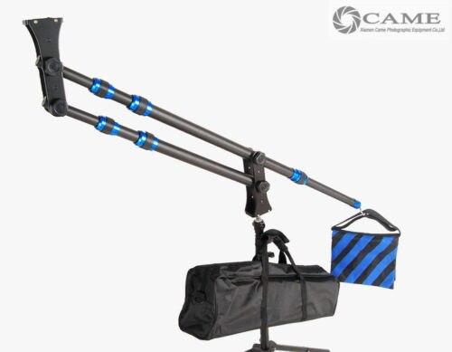 Mini grue portative de bras de potence de grue d'appareil-photo de Fiber de carbone seulement extension de 1.8 kg 2 m