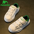 Kids shoes para niña 2017 otoño nueva moda de cuero artificial zapatillas niñas shoes kids shoes niños niños casual shoes