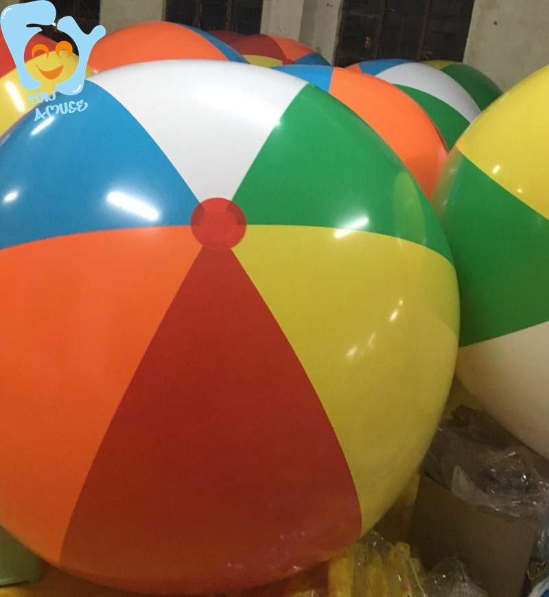 Dia 1.5m/2m 6-Color Inflatable Giant Beach Ball Pool Fun Beach Water Toys Swimming Float Boia De Piscinas