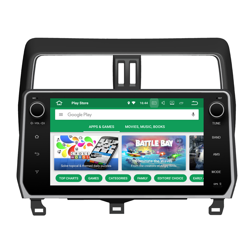 RoverOne Android 8.0 Car Multimedia Player For <font><b>Toyota</b></font> Prado <font><b>150</b></font> <font><b>2018</b></font> Autoradio Bluetooth <font><b>Radio</b></font> Stereo GPS Navigation Sat Navi image