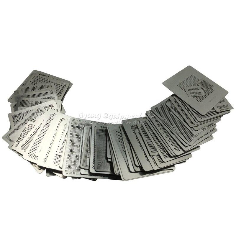 все цены на 433 pcs/set BGA reballing stencil kit direct heat jig онлайн