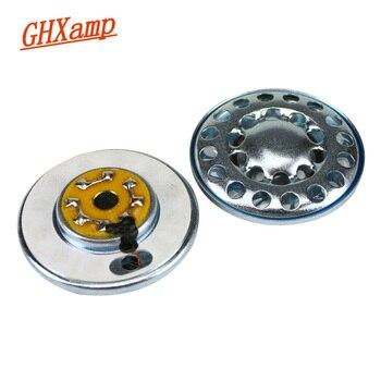 GHXAMP 40mm Headphone Speaker For MDR 7506  V6 HIFI Headset Horn DIY Repair Parts For Headphones White Magnetic 2pcs