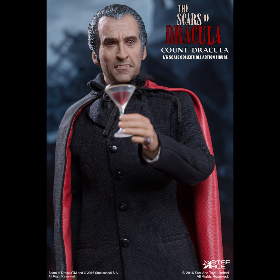 1:6 scale figure doll Suicide Squad COUNT DRACULA CHRISTOPHER LEE 12 Action figure doll Collectible model plastic toy 1 6 vampire the scars of dracula christopher lee colletible action figure