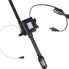 Multi-function mini aquarium fish tank filter pump submersible pumps water pumps supply 220-240v / 50Hz power 6W flow 350L / H стоимость