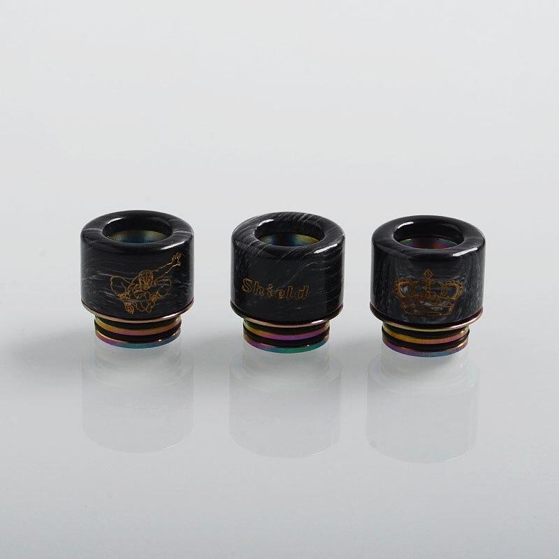 authentic-shield-cig-adjustable-810-drip-tip-for-tfv8-tfv12-tank-528-goon-kennedy-reload-rda-black-resin-11mm