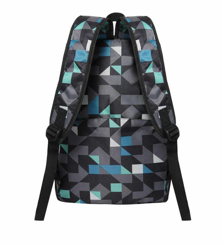 270af2bbf615 ... Teenagers Minecraft 3d Backpack Children School Bags Game Night Glowing  Backpacks Sac A Main Rucksacks For ...