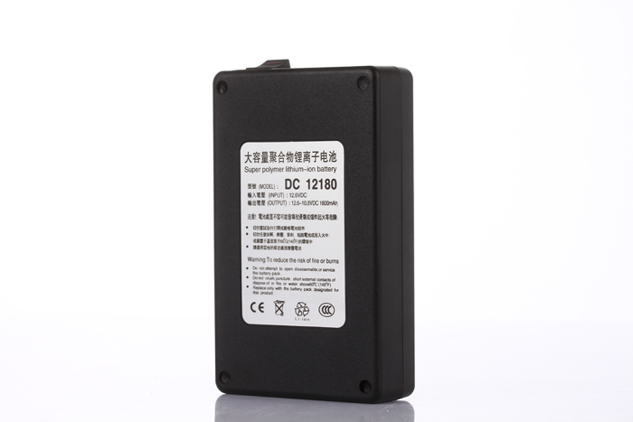 MasterFire DC 12V 1800mAh Rechargeable Portable Lithium ion Battery Batteries Pack for CCTV Camera Transmitter DC 12180 in Rechargeable Batteries from Consumer Electronics