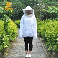 New Arrival Chất Lượng Cao Nghề Nuôi Ong Jacket Veil Smock Thiết Bị Nguồn Cung Cấp Nuôi Ong Mũ Áo Suit Nghề Nuôi Ong và ong