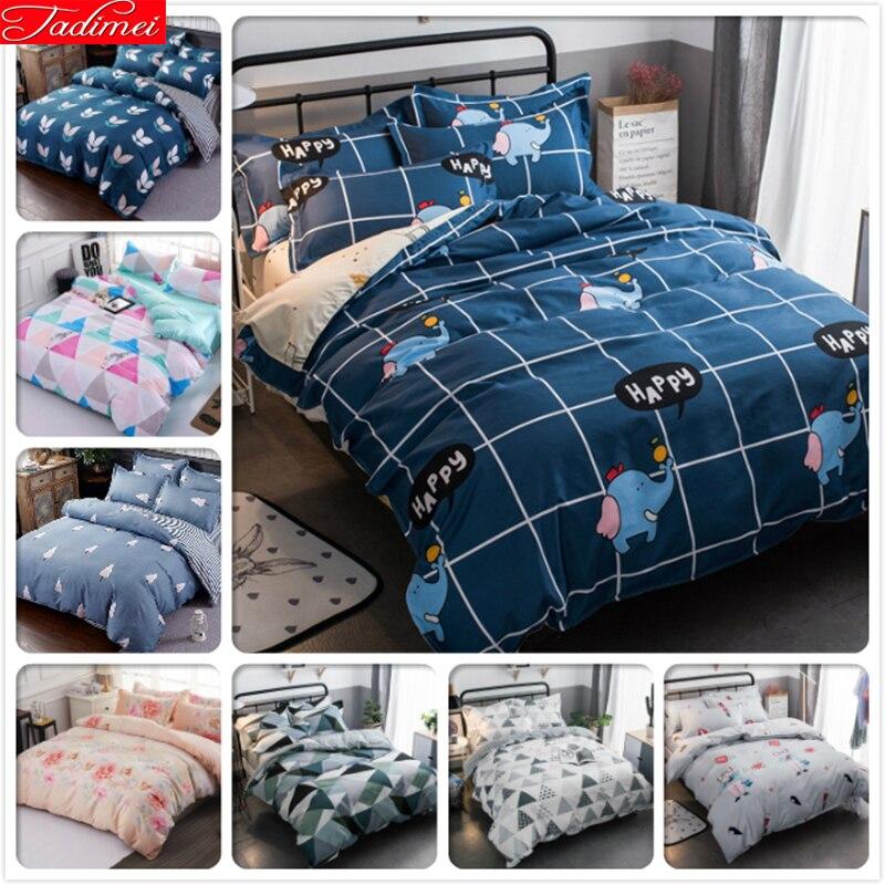 Honesty Duvet Cover 3pcs/4pcs Bedding Set Sheet Bedspreads Pillowcase Bed Linen Kids Child Soft Cotton Bedlinen Single Queen King Size Power Source