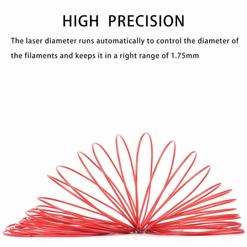 Voor 3d pen 10 kleuren 50 m 3d-printer filament ABS/PLA 1.75mm plastic materiaal voor 3D pen doodler tekening en printing