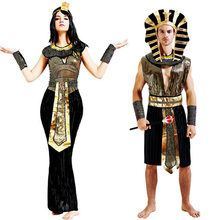 Ancient Egypt Egyptian Pharaoh Cleopatra Prince Princess Costume for women men Halloween Cosplay Costume Clothing egyptian  sc 1 st  AliExpress.com & Popular Egyptian Costume for Men-Buy Cheap Egyptian Costume for Men ...