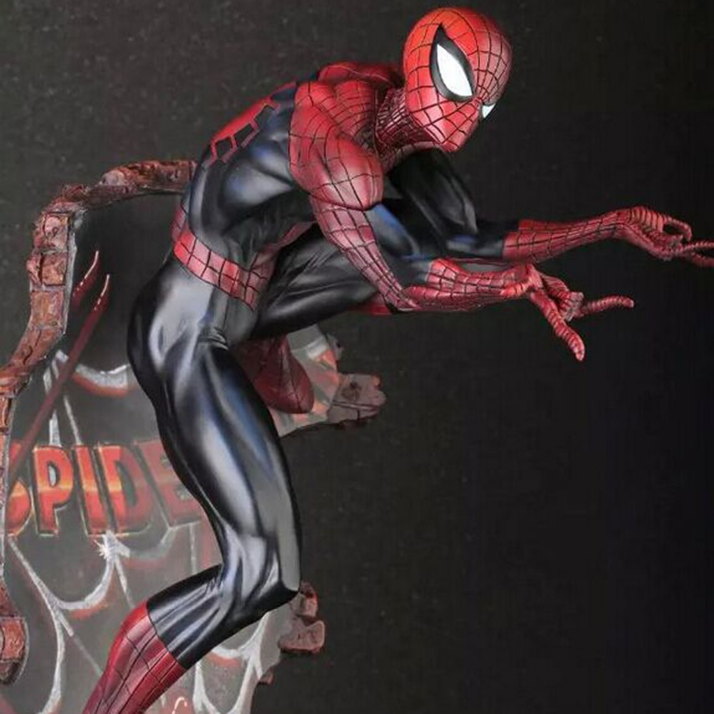 The Amazing Spider Man Anime Action Figure Spider-Man 2 Doll PVC Figure Movie Crazy Toys Brinquedos CT001021 CT001022 free shipping the avengers the amazing spider man movie spiderman will light 17cm pvc action figure toys new christmas gifts