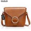CLELO Women Messenger Bags Shoulder Bag Fashion Designer Handbags High Quality Ladies Bags Vintage Crossbody Mini Bags