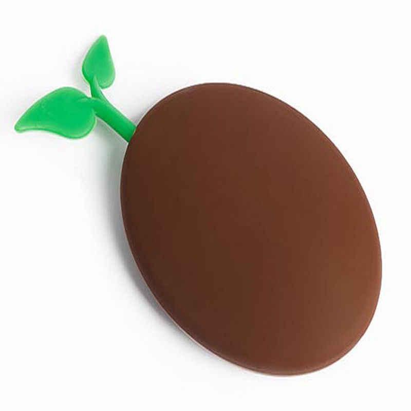 ノベルティシリコーンコーヒー豆形状キーリングキーバッグ財布ポーチホルダークリスマスギフト#356
