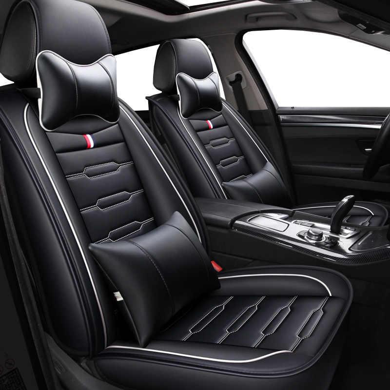 Housses de siège auto de bande dessinée en cuir d'unité centrale de haute qualité pour la capture d'accoudoir de Renault