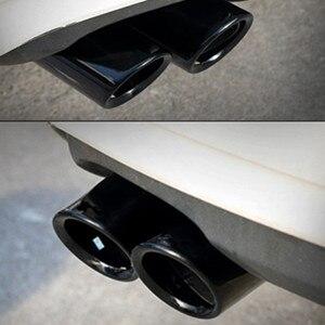 2pcs exhaust systems Car Exhau