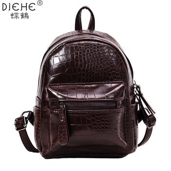 54683a123bd6 Product Offer. Модные женские рюкзаки для девочек, мини-рюкзак из искусственной  кожи, женский ...