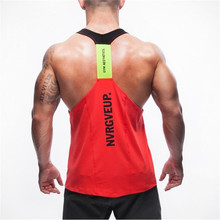Musculation Fitness Men Bodybuilding Tank Tops Slim Fit V-neck Tops Sleeveless Vest Gold's Gyms Clothing Casual Workout Clothes