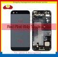 Замена Для Iphone 5 5G Задняя Крышка Батареи Полный Жилищно ассамблея Шасси с Sim-карты Лоток + Кнопки + Flex кабели