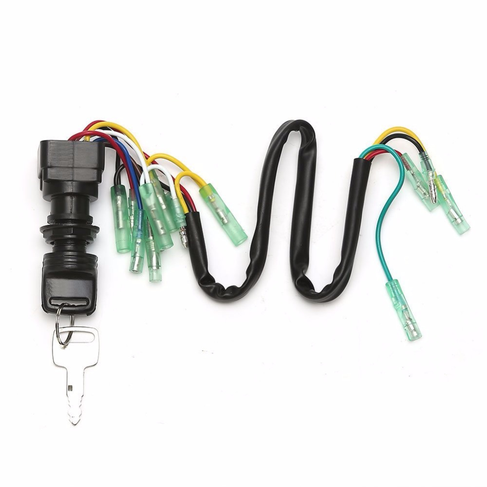 medium resolution of ignition switch key assy for yamaha outboard motor control box 703 82510 44 00 703 82510 43 00 703 82510 42 00