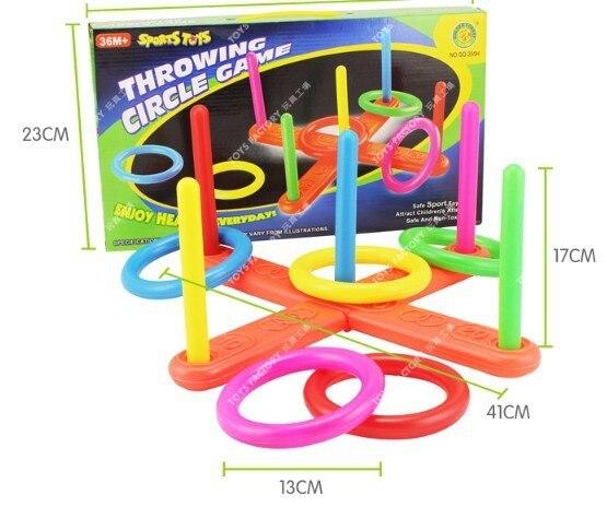1pcs throwing circle game throwing ring children sports toys