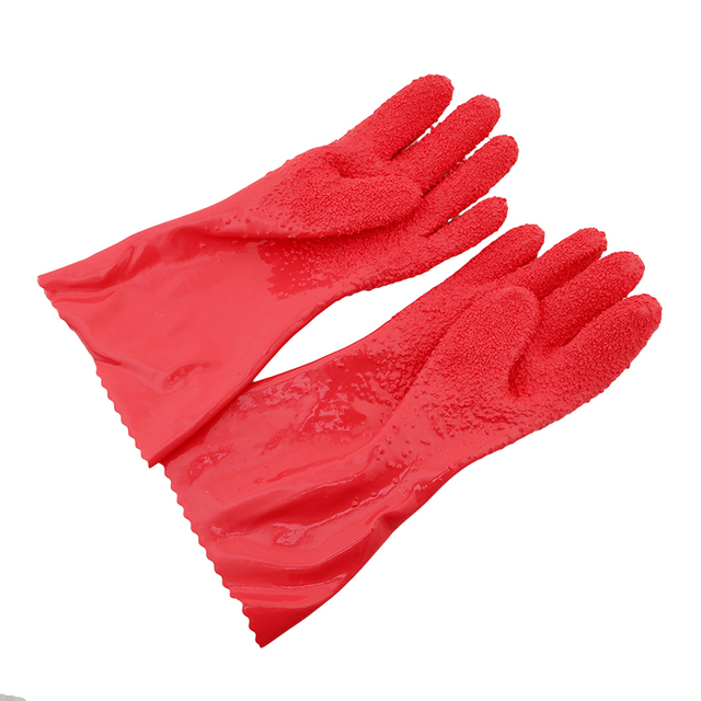 2Pcs/ Pair Creative Peeled Potato Cleaning Gloves Kitchen Vegetable Rub Fruits Skin Scraping Fish Scale Non-slip Household Glove 5