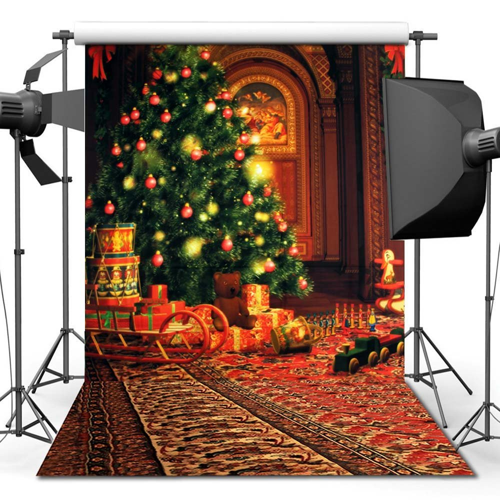 150X210CM Photography studio Green Screen Chroma key Background Polyester Backdrop for Photo Studio Dark Brick YU003 in Background from Consumer Electronics