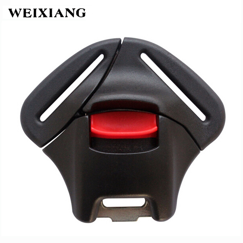 5 Point Safety Harness Buckle Baby Car Seat Belt Lock