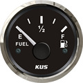 52mm Fuel level gauge fuel level meter 240-33 ohm signal black faceplate for boat yacht universal car truck