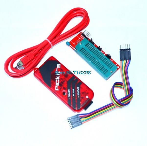 PICKIT3 programmateur + PIC ICD2 PICKit 2 PICKIT 3 adaptateur de programmation programmateur universel siège FZ0508