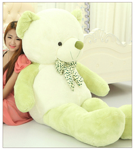 big plush round eyes emerald green teddy bear toy huge bear doll gift about 160cm
